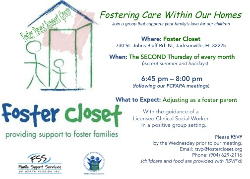 Foster Closet Support Group